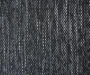 Sofa Hocker Clovis Weiss Schwarz B98 x T83 Strukturstoff Sitzhocker  [19664]