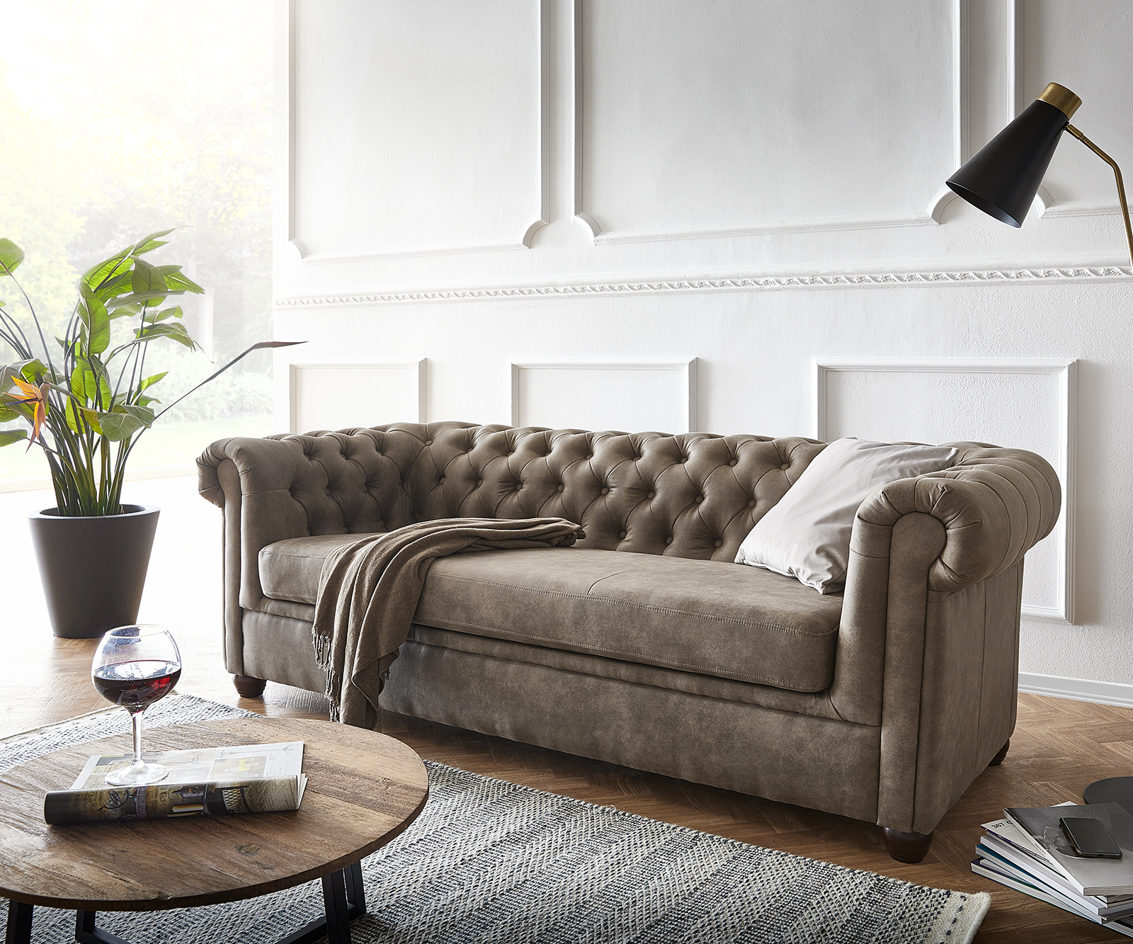 delife-sofa-chesterfield-3-sitzer-200x88-cm-vintage-taupe-couch-chesterfields