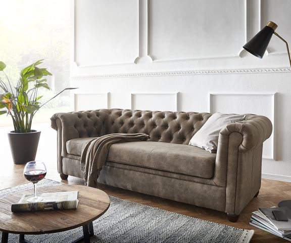 Couch Chesterfield 3-Sitzer