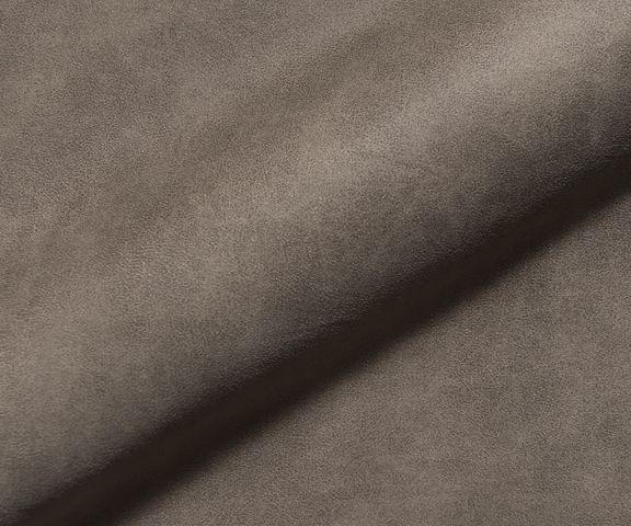 Bank Chesterfield 209x160 cm taupe gewatteerd ottomaan rechts 3