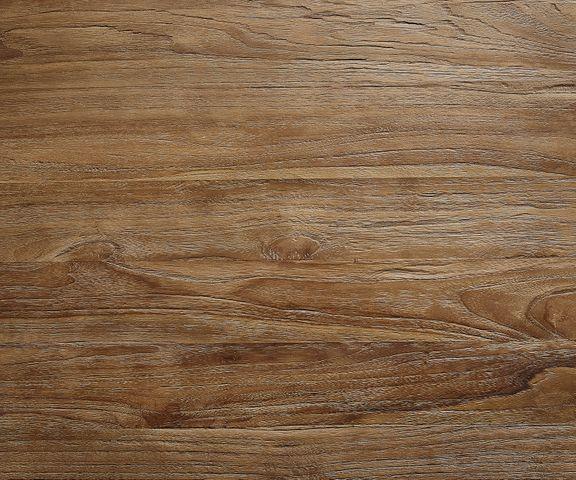 Salontafel Leandra 80x80 cm teakhout natuur metalen frame 3