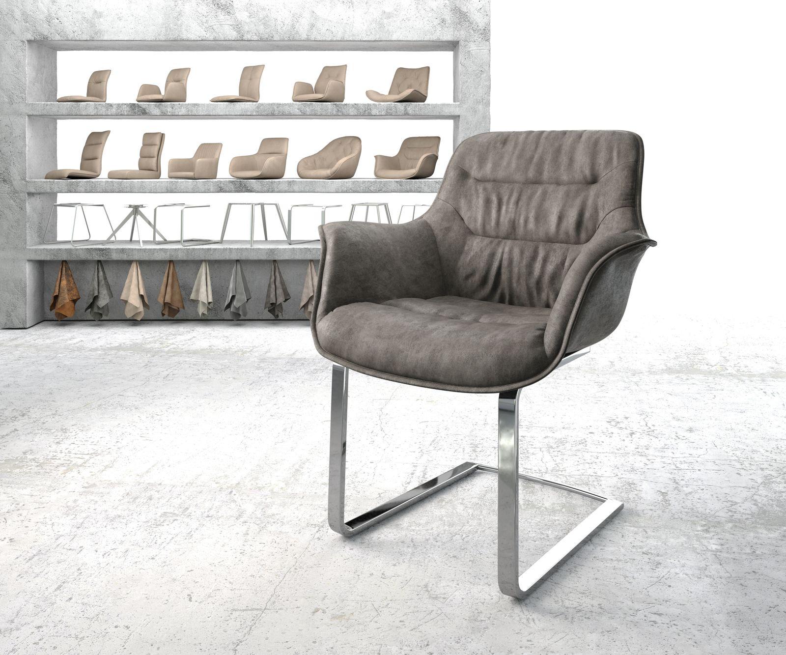 delife-armlehnstuhl-kaira-flex-anthrazit-vintage-freischwinger-flach-verchromt-esszimmerstuhle