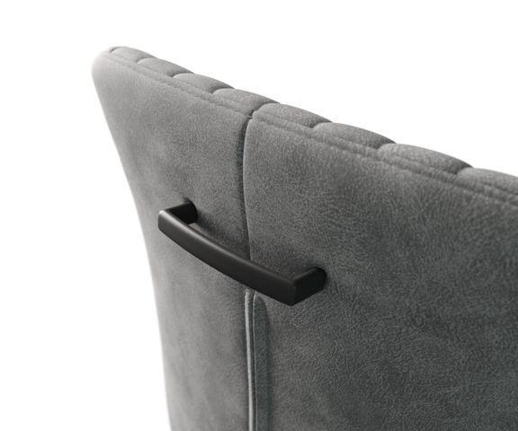 Stuhlgriff Flex-Schmal Metall Silber