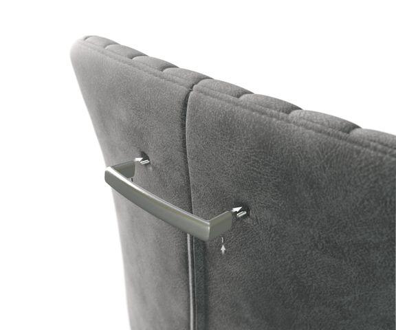 Stuhlgriff Flex-Schmal Metall Schwarz