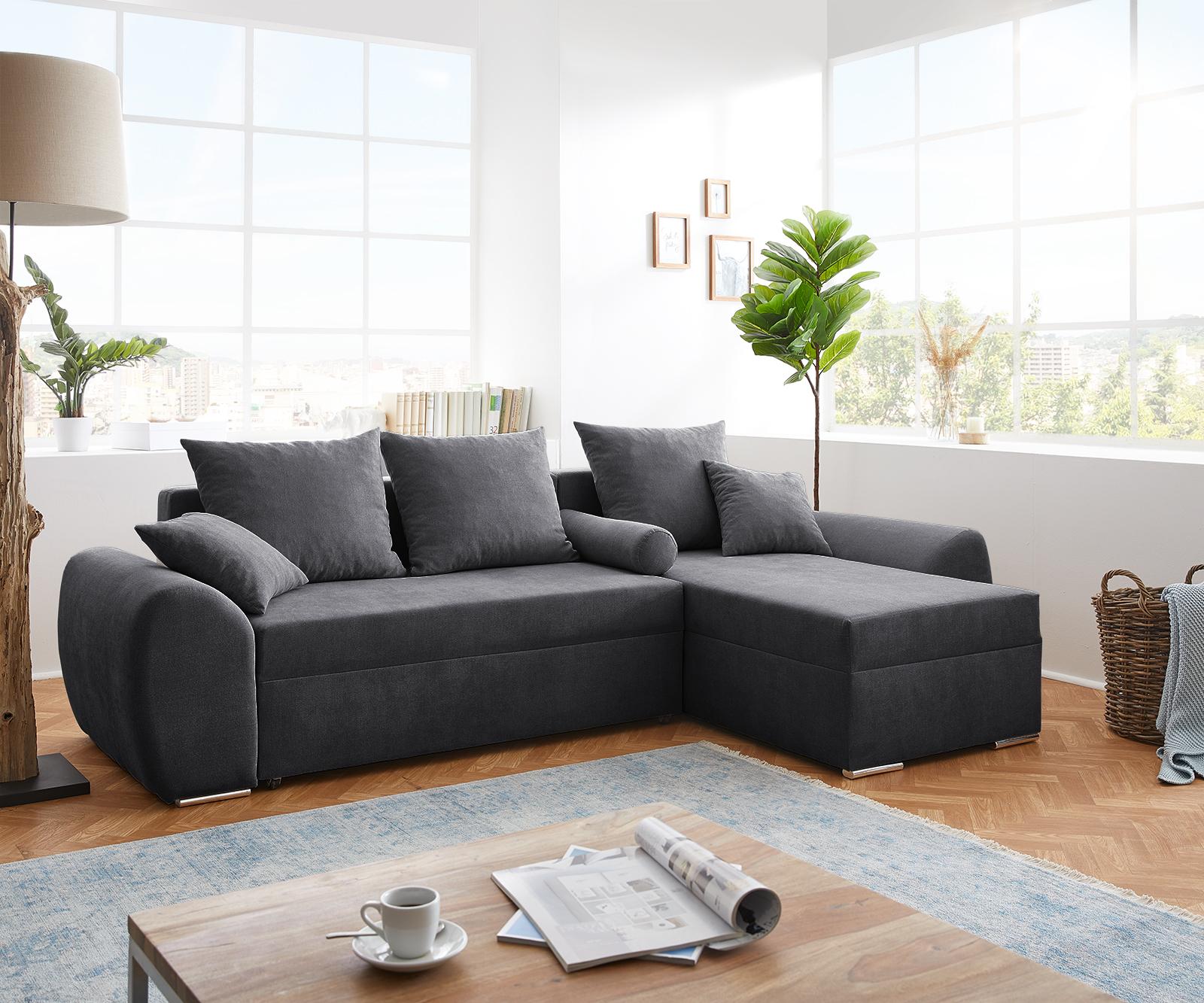 Canapé d'angle Tissu Confort Original