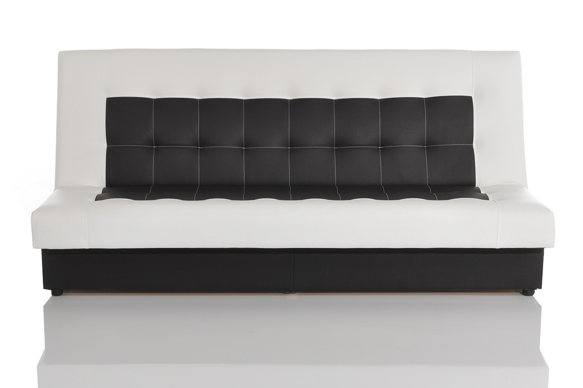 schlafcouch mit bettkasten wei. Black Bedroom Furniture Sets. Home Design Ideas