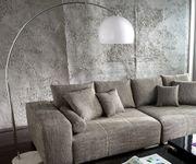 Lampe Big-Deal XL Lounge Weiss höhenverstellbar Marmor Bogenleuchte [1802]