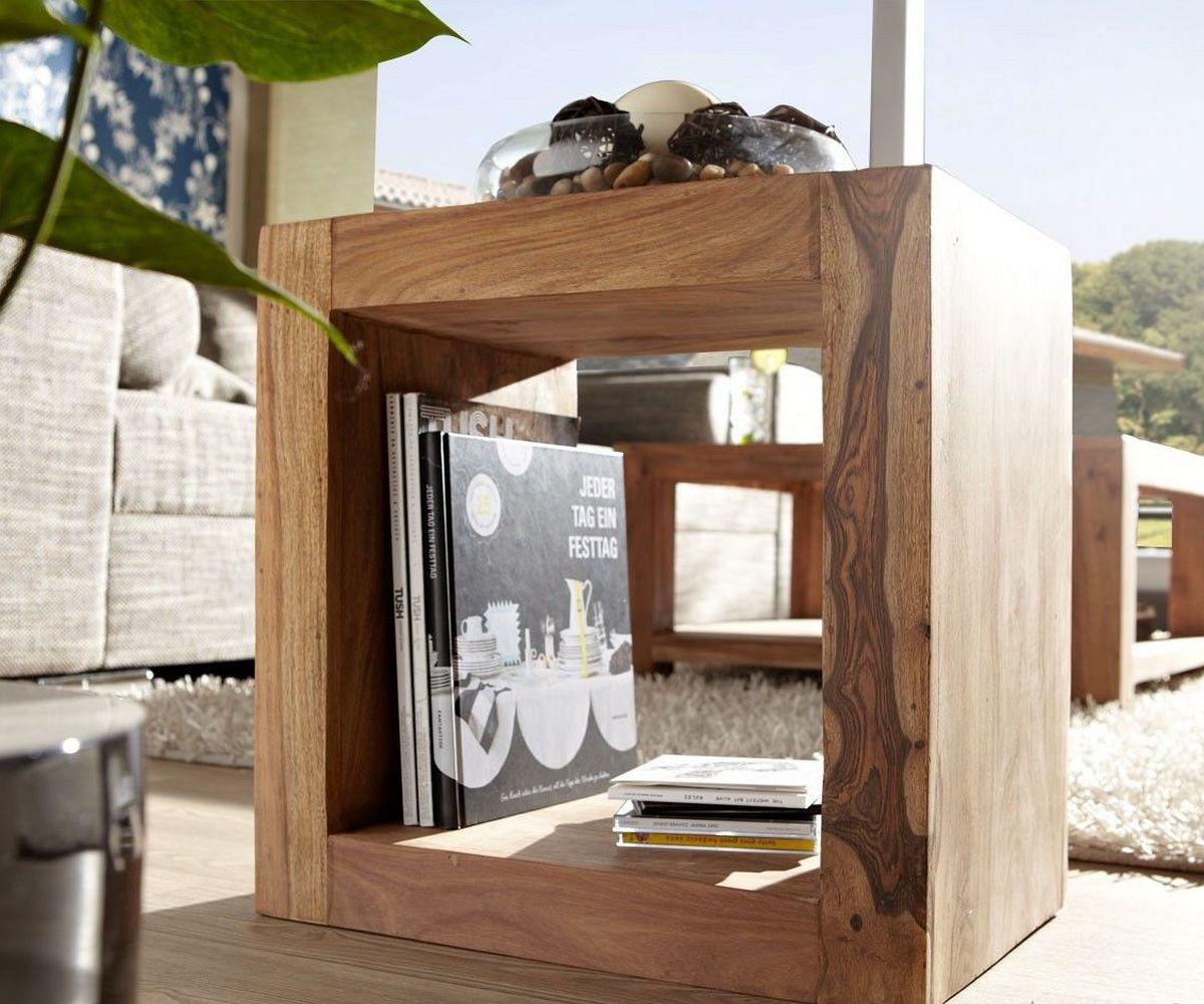 regal yoga sheesham natur 45x32 cm w rfel raumteiler by wolf m bel. Black Bedroom Furniture Sets. Home Design Ideas