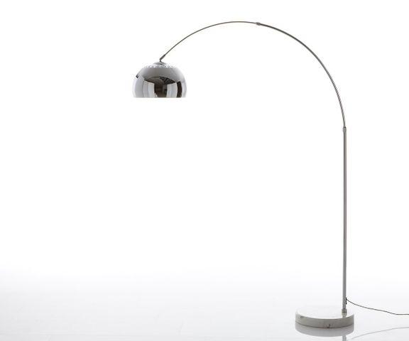 Big-Deal Eco zilveren marmer booglamp hoogte verstelbaar 1