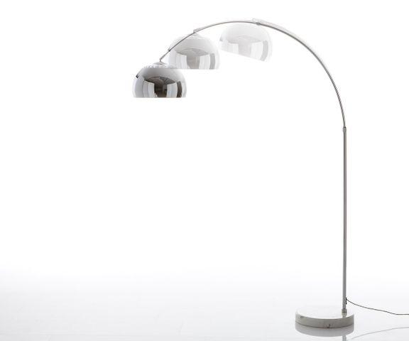 Big-Deal Eco zilveren marmer booglamp hoogte verstelbaar 2