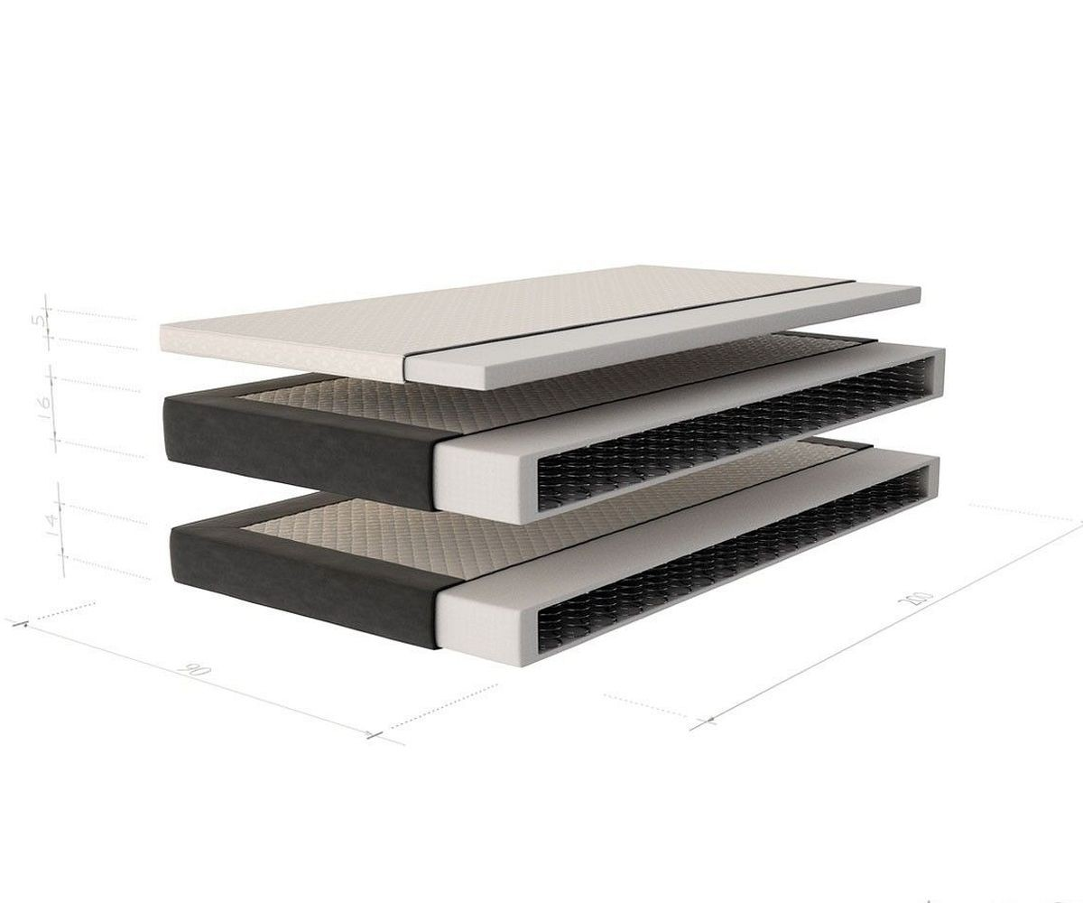 boxspringbett junis 180x200 schwarz matratze und topper m bel betten boxspringbetten. Black Bedroom Furniture Sets. Home Design Ideas