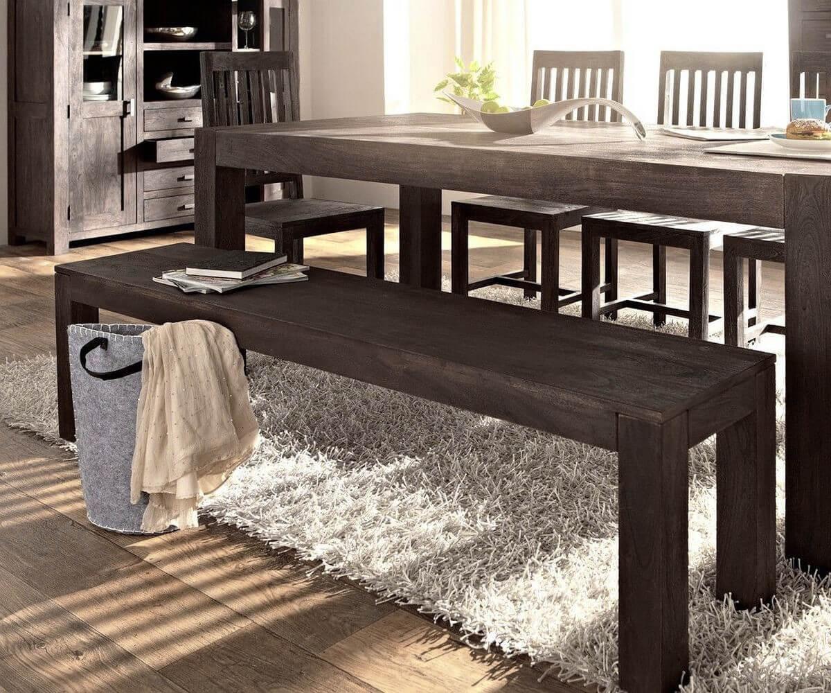 Möbel massiv   sitzbank massiv in verschiedenen größen und bester ...