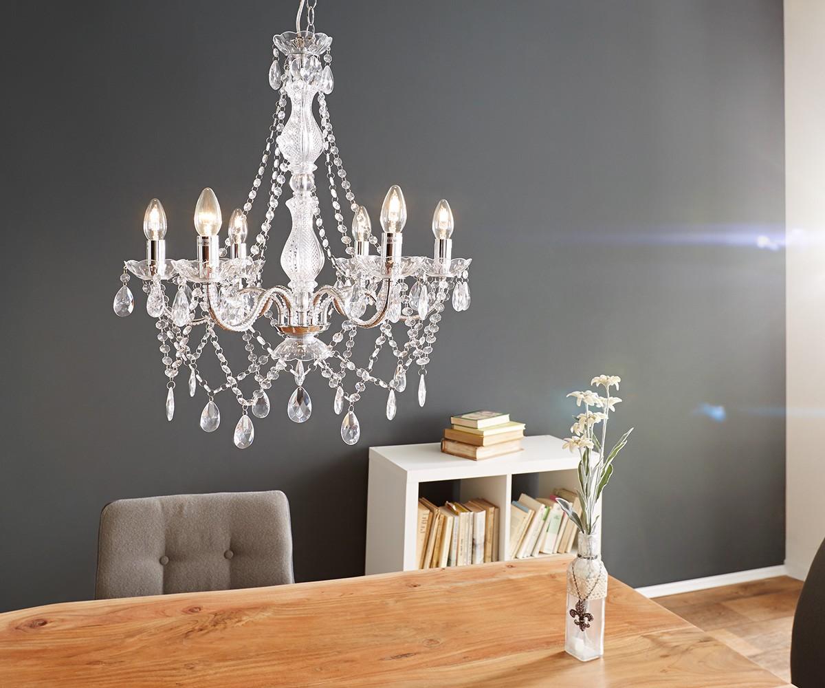 Bild Mit Kronleuchter ~ Kronleuchter gypsy starlight cm transparent armig möbel