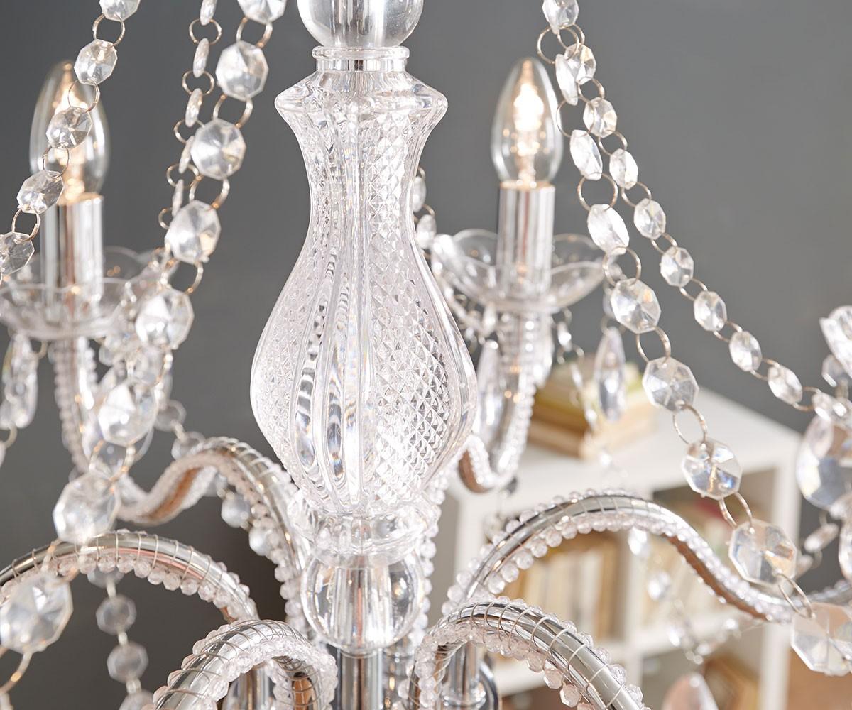 Kronleuchter Acryl ~ Kronleuchter gypsy starlight cm transparent armig möbel
