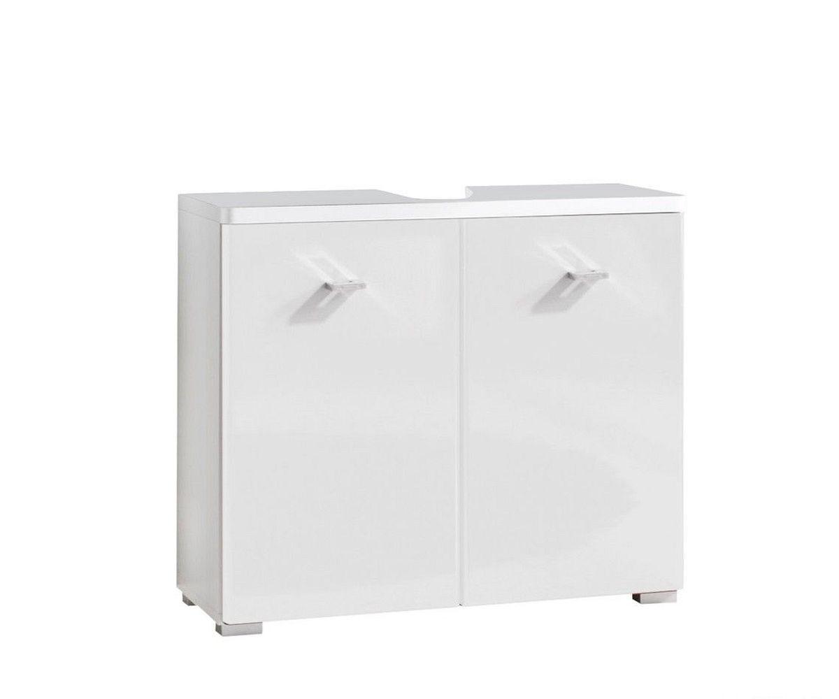 waschbeckenunterschrank lysander 70 cm weiss hochglanz m bel. Black Bedroom Furniture Sets. Home Design Ideas