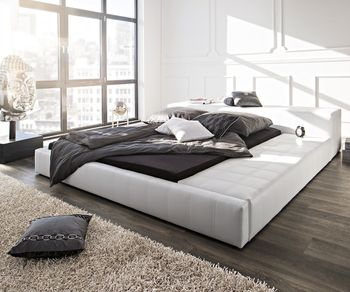 m bel modern polsterbetten in ungew hnlichem design. Black Bedroom Furniture Sets. Home Design Ideas