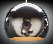 Deckenleuchte Pentola Chrom Silberfarben 115 cm 5 Schirme  [8471]