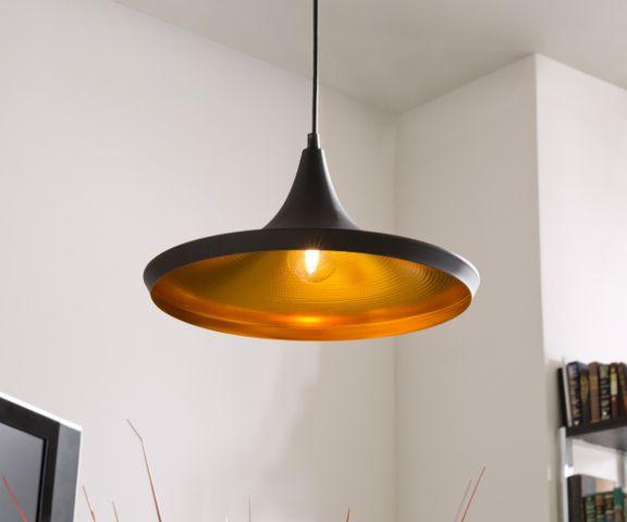 Hanglamp Ginevera 35 cm zwart mat aluminium 1