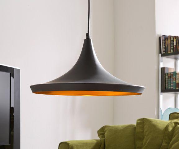 Hanglamp Ginevera 35 cm zwart mat aluminium 3