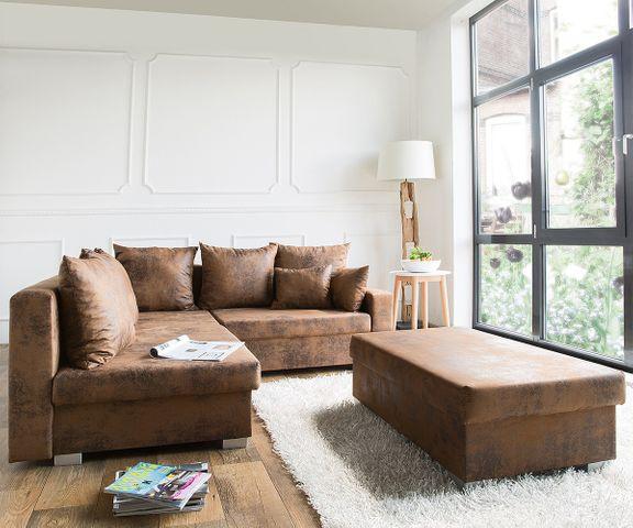 Couch Lavello Braun