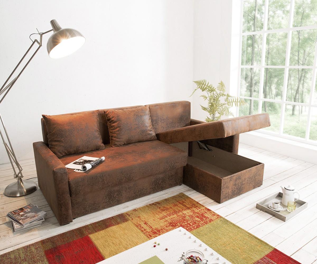 ecksofa avondi 225x145 cm braun ottomane variabel m bel sofas ecksofas. Black Bedroom Furniture Sets. Home Design Ideas