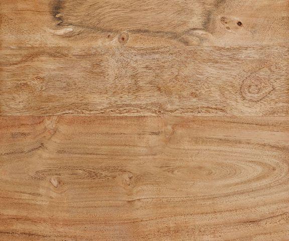 Boomtafel Live-Edge 140x90 acacia natuur bovenblad 5cm smal frame 3
