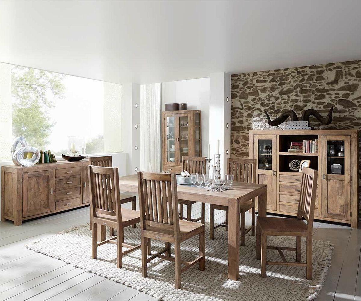 kommode guru akazie stone 175 cm 4 schubladen wolf m bel. Black Bedroom Furniture Sets. Home Design Ideas