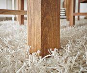 Esszimmertisch Indra Akazie Natur 140x90 cm Massivholz Esstisch [9799]