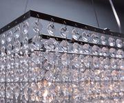 Hängelampe Cybill Transparent 120  cm in der Höhe verstellbar Hängeleuchte  [9948]
