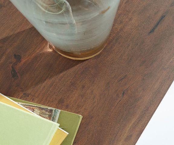 Dressoir Live-Edge 147 cm acacia bruin 3 laden 2 deuren 3