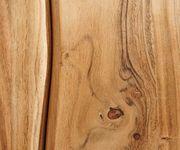 Kommode Live-Edge Akazie Natur 172 cm 4 Türen 3 Schübe Baumkante Sideboard [11300]
