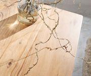 Fernsehtisch Live-Edge Akazie Natur 146 cm 1 Fach 3 Schübe Baumkante Lowboard [11302]