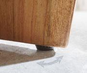 Kommode Live-Edge Akazie Natur 145 cm 3 Türen 1 Fach Sideboard [10103]