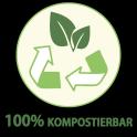 100 Prozent kompostierbar