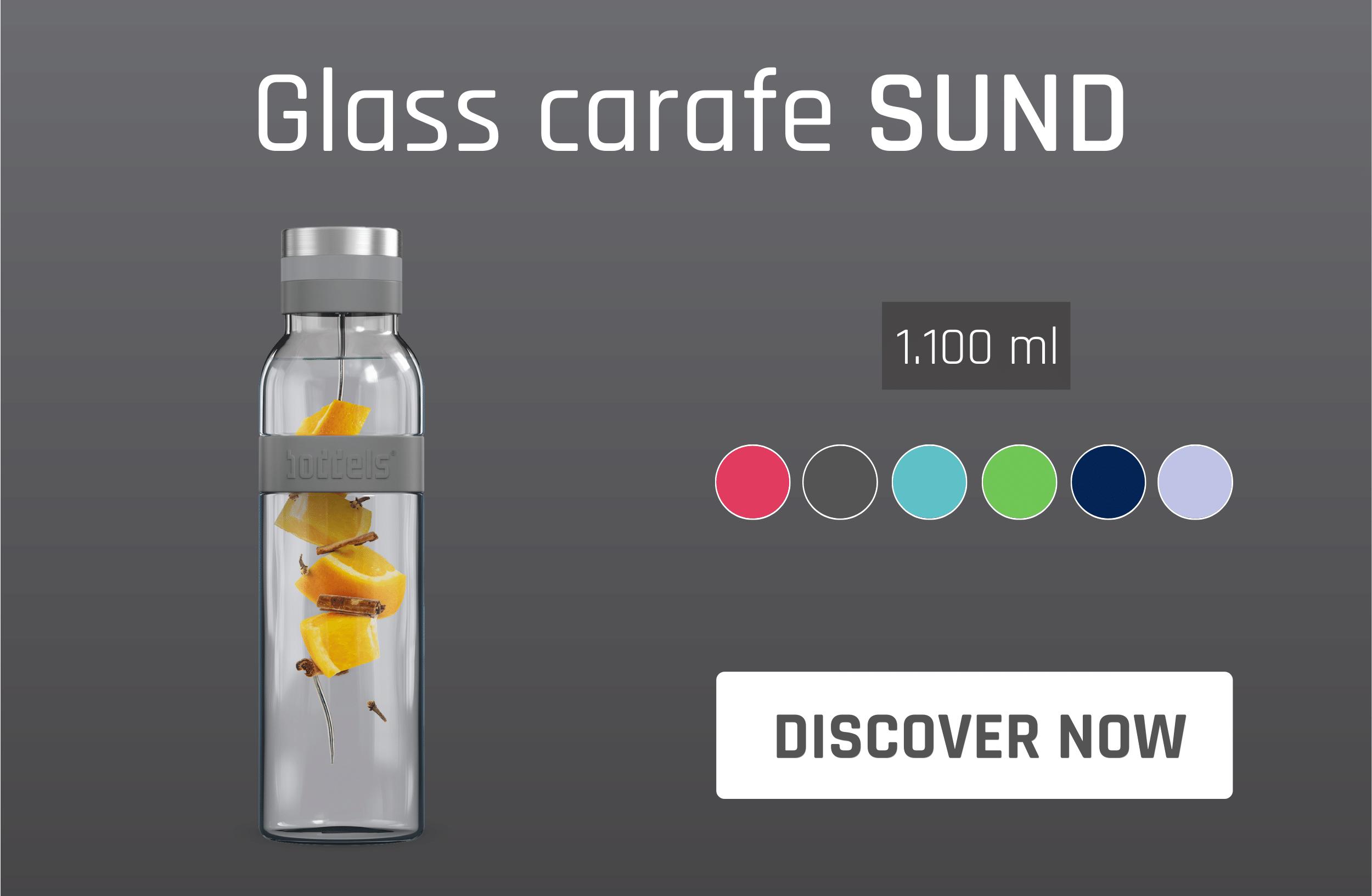 Glass carafe SUND