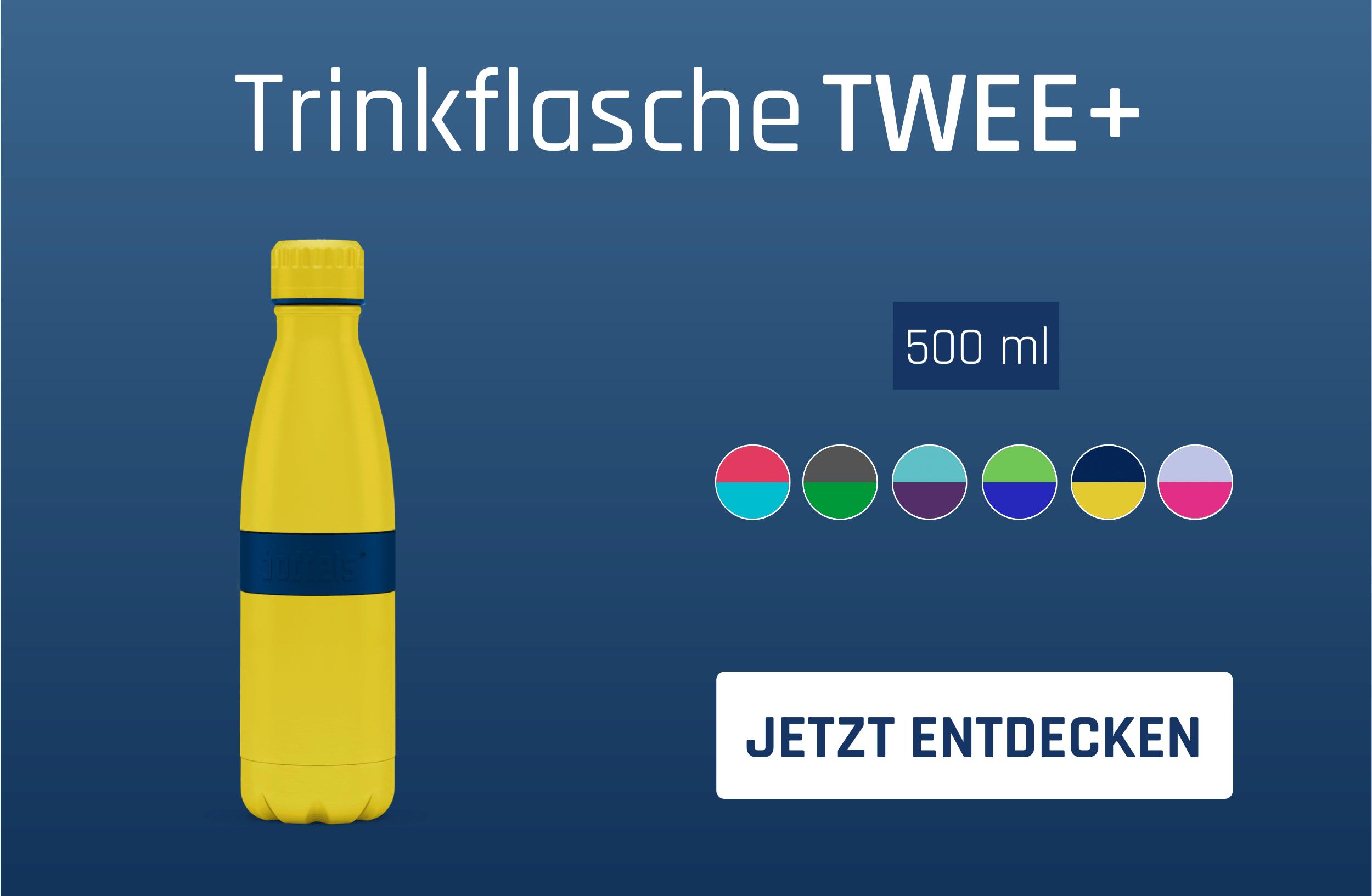 Trinkflasche TWEE+ 500ml