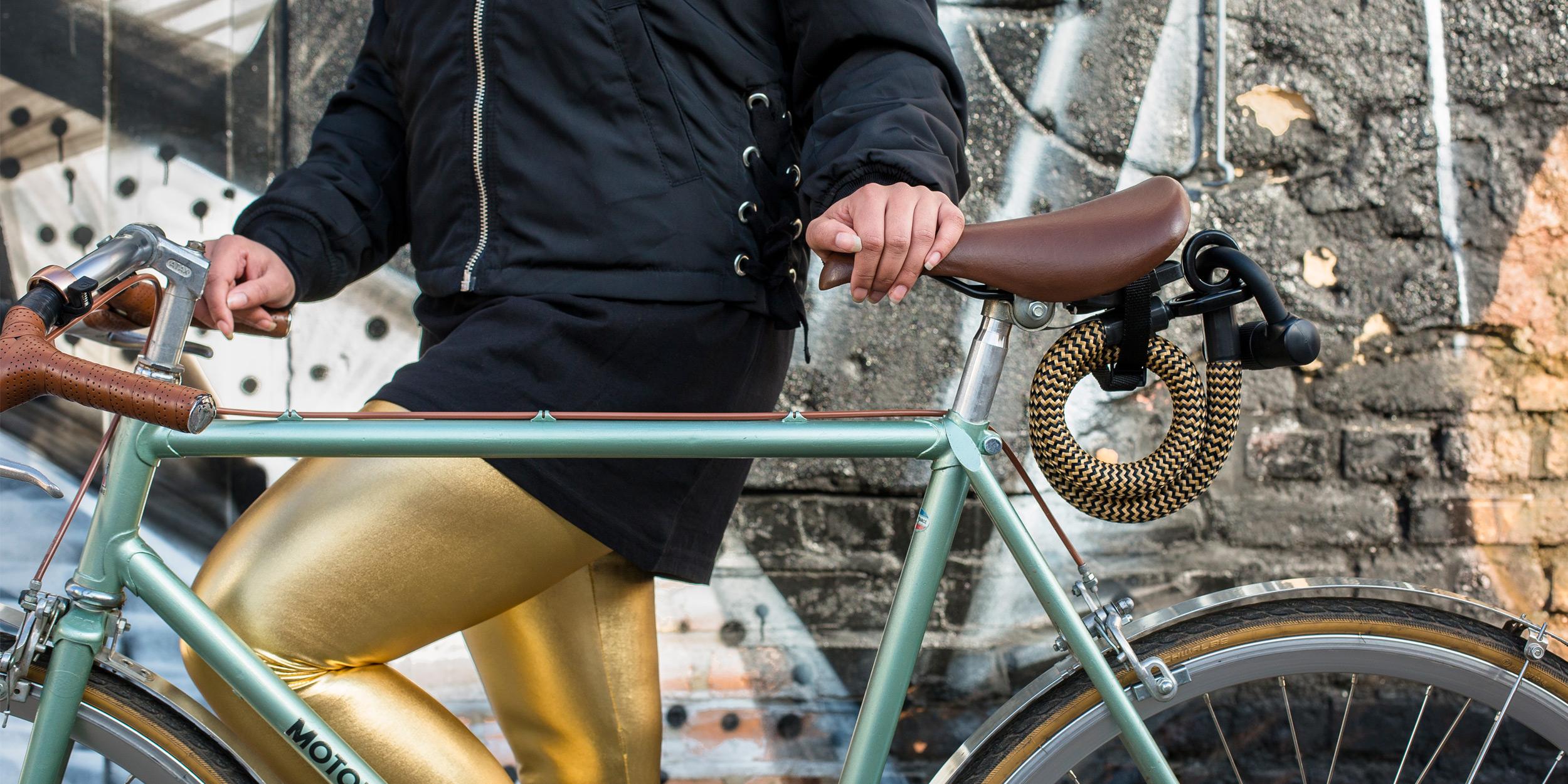 das neue fahrradschloss aus high-tech textil