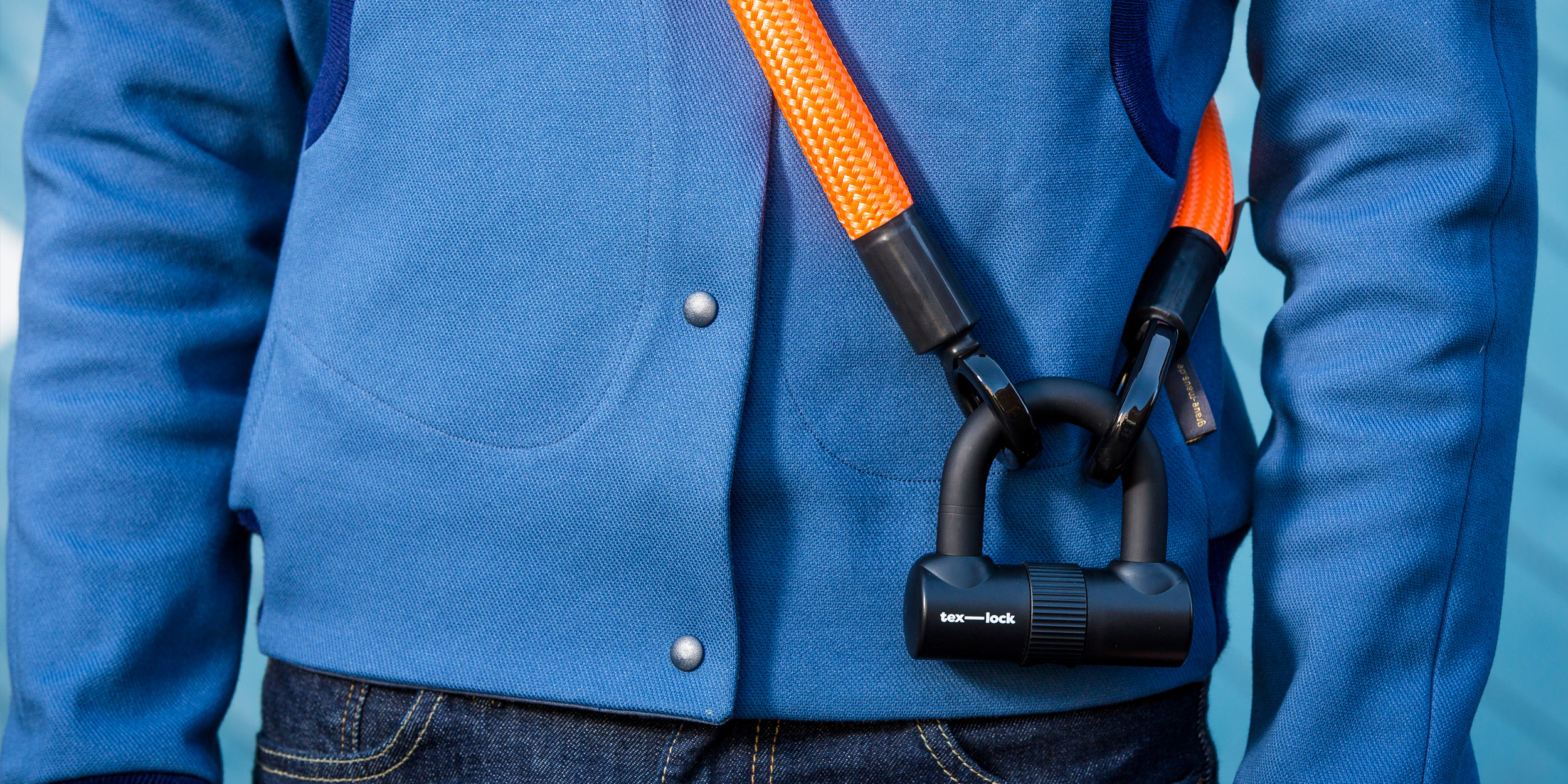 order the new textile bike lock now in our online shop!