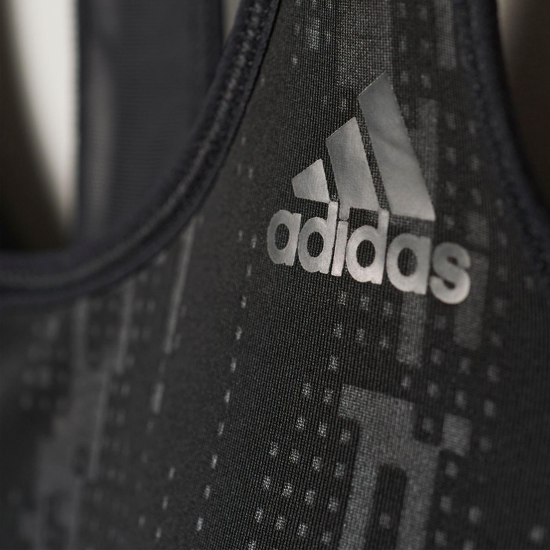 adidas Printet Racer-Back Damen Sport-BH – Bild 6
