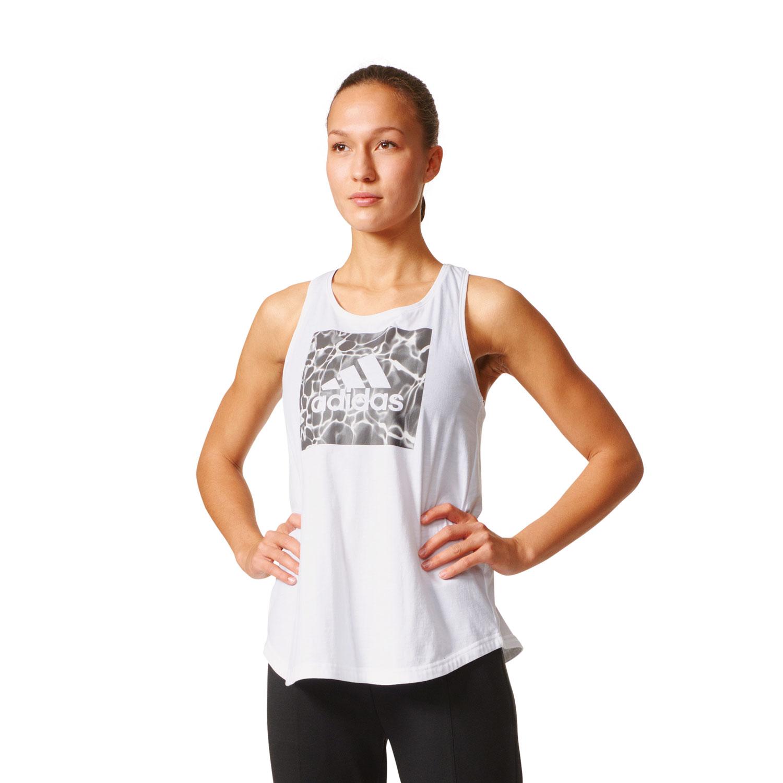 Adidas ID Bos Box Graphic Damen Trainingstop – Bild 3
