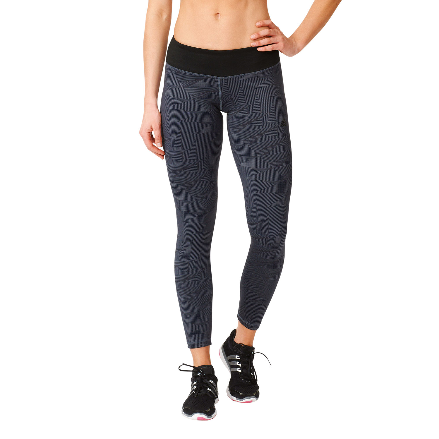 Adidas Basic Long Tight Damen Trainingstight – Bild 3