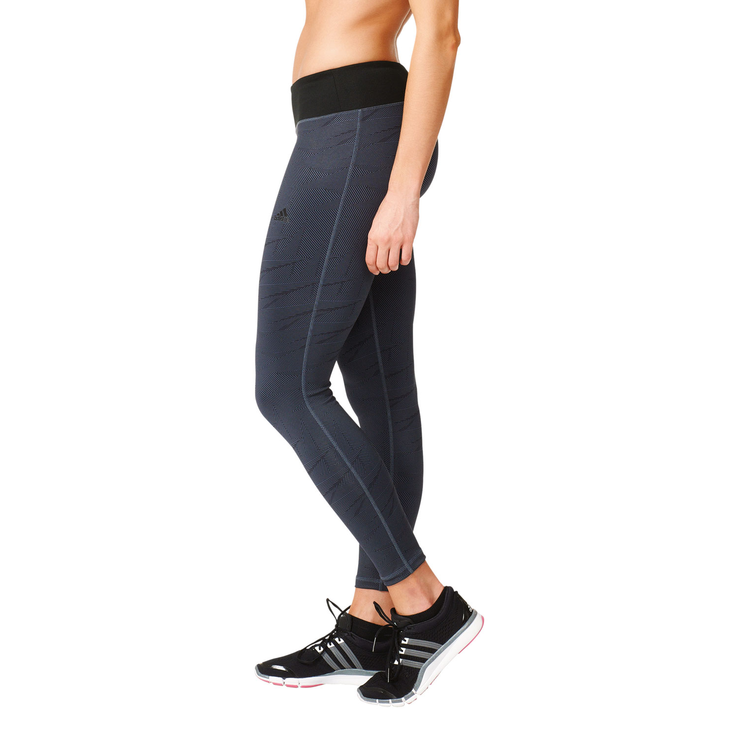 Adidas Basic Long Tight Damen Trainingstight – Bild 4