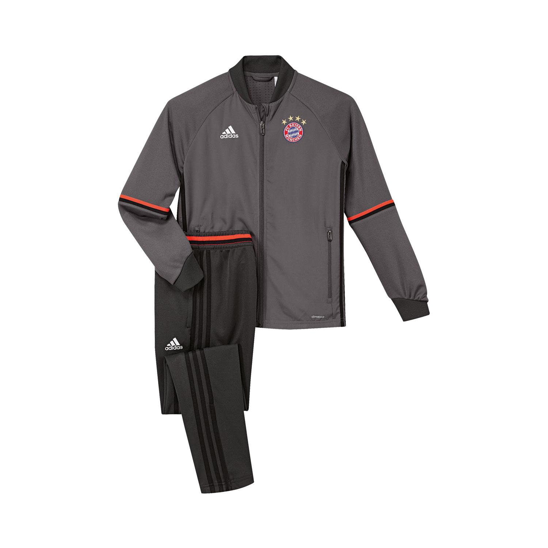 Adidas FC Bayern München Kinder Trainingsanzug – Bild 1