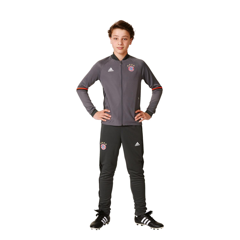 Adidas FC Bayern München Kinder Trainingsanzug – Bild 4