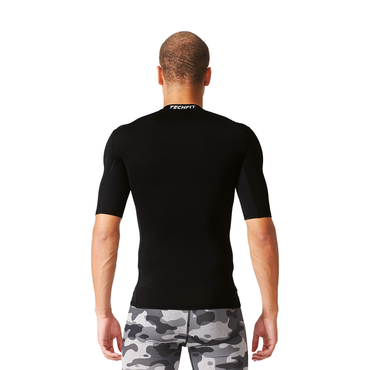 Adidas Techfit Base Tee Herren Trainingsshirt – Bild 5