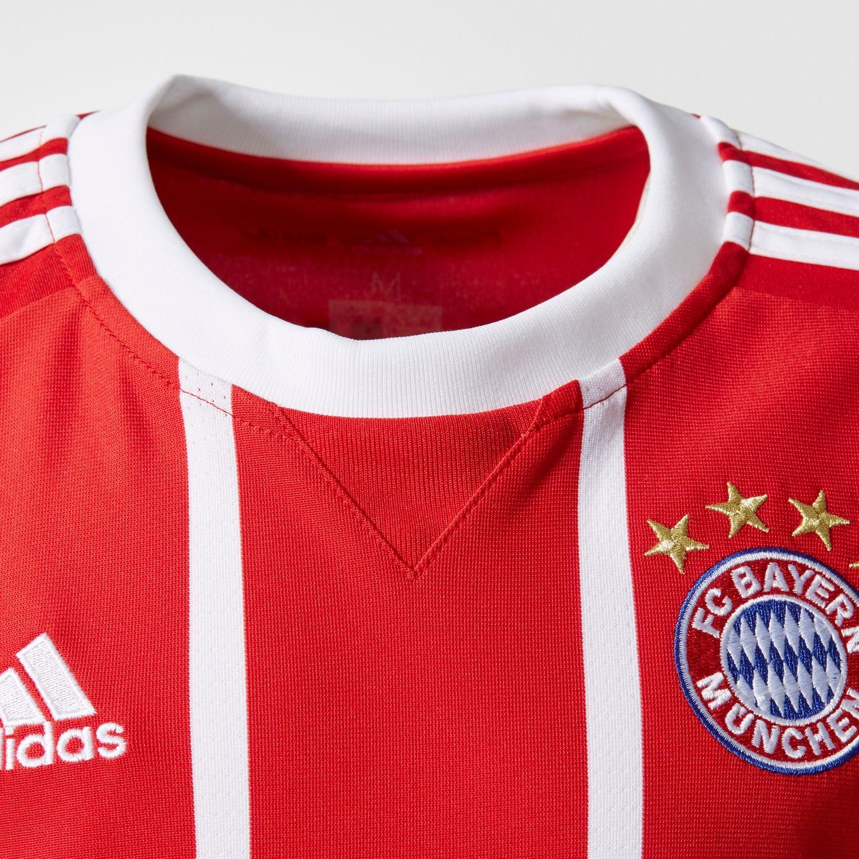 adidas FC Bayern München Kinder Home Trikot 17/18  – Bild 3