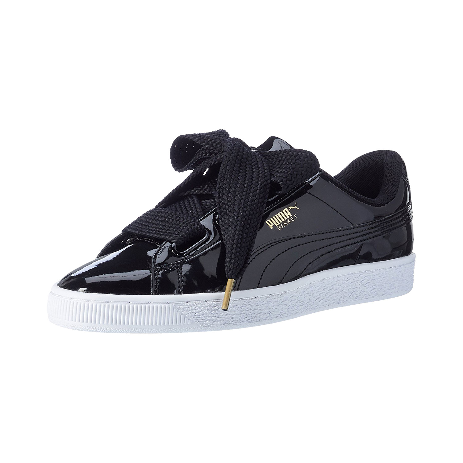 puma basket heart damen weiß
