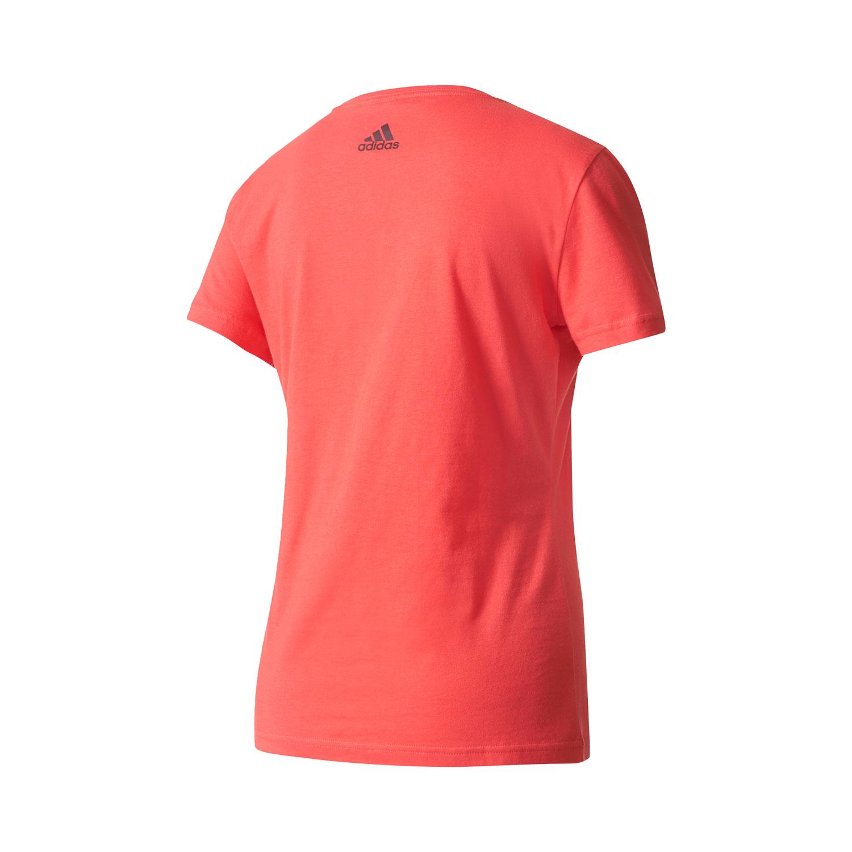 Adidas Special Linear Damen T-Shirt – Bild 2