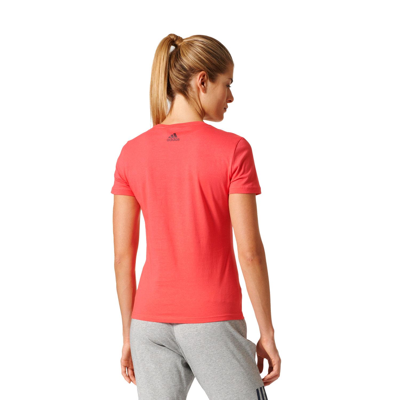 Adidas Special Linear Damen T-Shirt – Bild 5