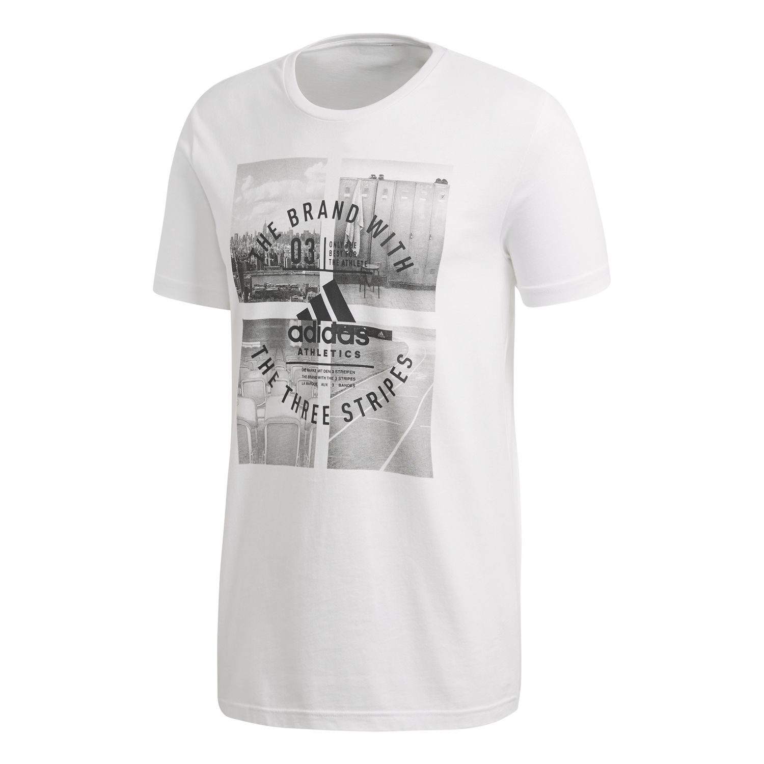 adidas Athletic Vibe M Herren T-Shirt – Bild 1